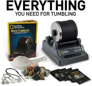 complete rock tumbling kit